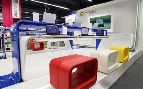 Google İlk Mağazasını Londra'da Açtı