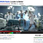 Radio Virgin Youtube Etkinliği
