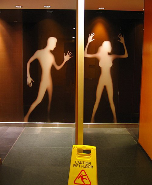 Komik ve Yaratıcı Tuvalet Simgeleri