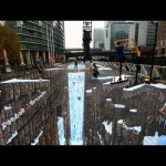 "Reebook ""The Largest 3D Street Art"""