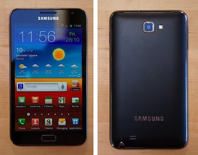 Samsung Galaxy Nexus vs Samsung Galaxy Note