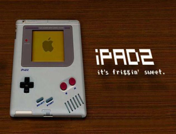 iPad'e Gameboy Kılıfı