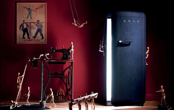 Kot Kaplı Buzdolabı
