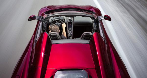 Yeni McLaren 12C Spider Cabrio