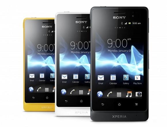 Sony'den Su Geçirmeyen Androidli Telefonlar