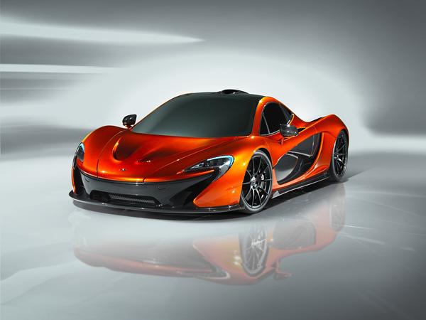 McLaren P1 Konsept Otomobil