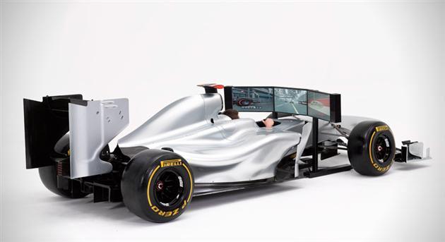 Formula 1 Simulasyon Aracı