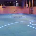 Led Isıklı Spor Salonu