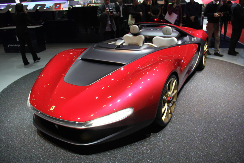 Ferrari'den Yeni Bir Otomobil Sergio