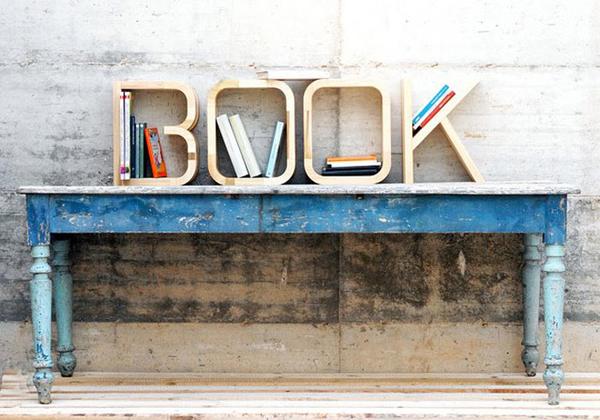 Book Kitaplık Rafı