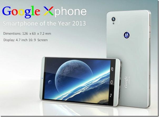 Google Telefonu X Phone Göründü