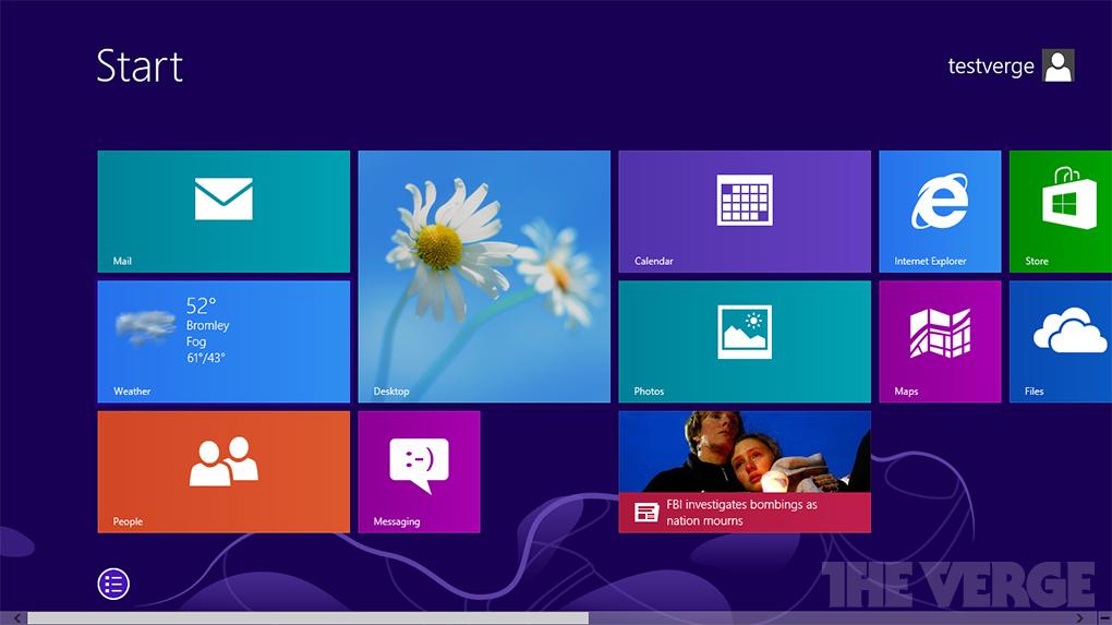 Windows 8.1 Görücüye Çıkıyor