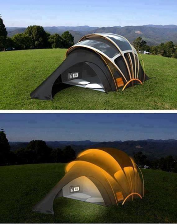 Güneş Enerjili Çadır