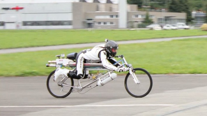 280 Km Hız İle Gidebilen Bisiklet