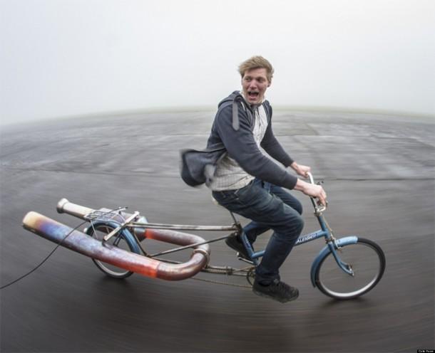 Dünyanın En Tehlikeli Bisikleti