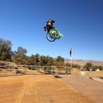 Tekerlekli Sandalye İle Extreme Gösteri