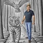 3 Boyutlu Karakalem Çizimler