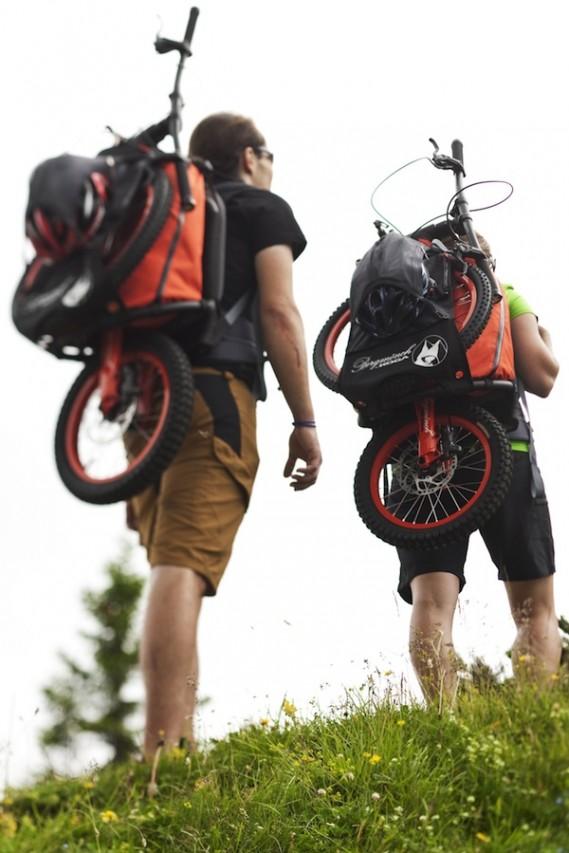 Sırtta Taşınabilen Bisiklet