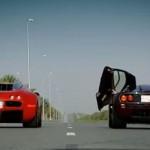Dünyanın En Hızlı İki Otomobili Karşı Karşıya