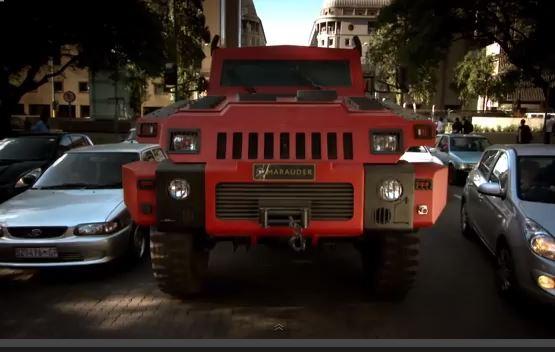 Modifiyeli Askeri Hummer