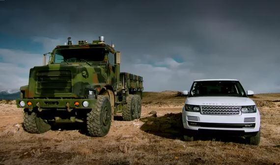 Range Rover Terminatöre Karşı