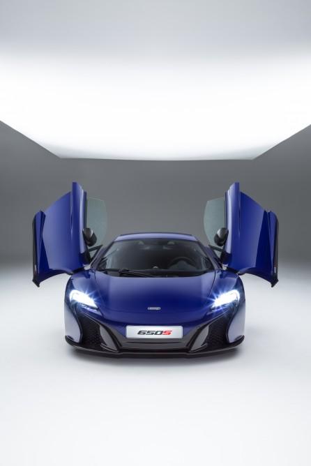 Sonunda Geldi McLaren 650S