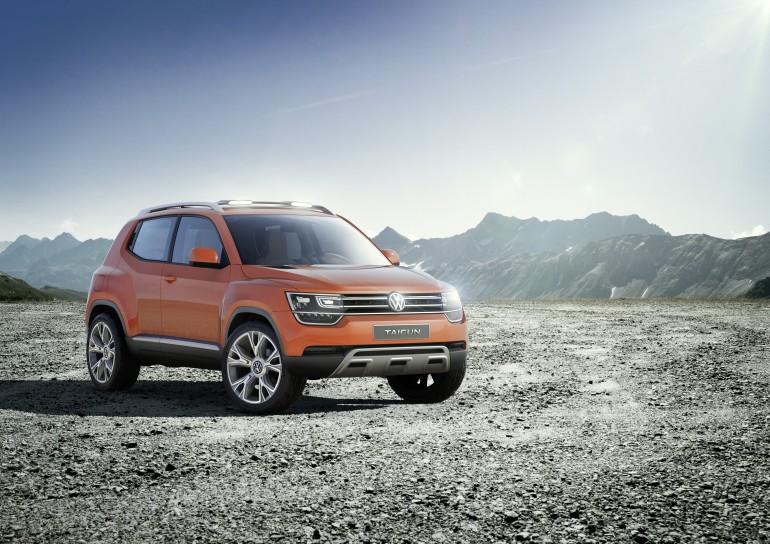 VW Tiguan'dan Sonra Şimdi de Taigun
