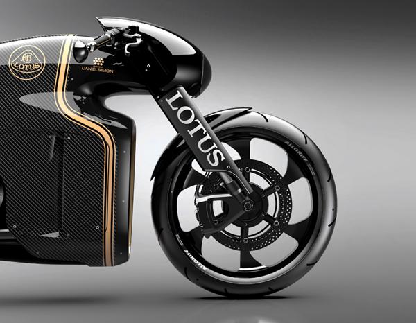 Lotusun Kendini Aştığı Motorsiklet