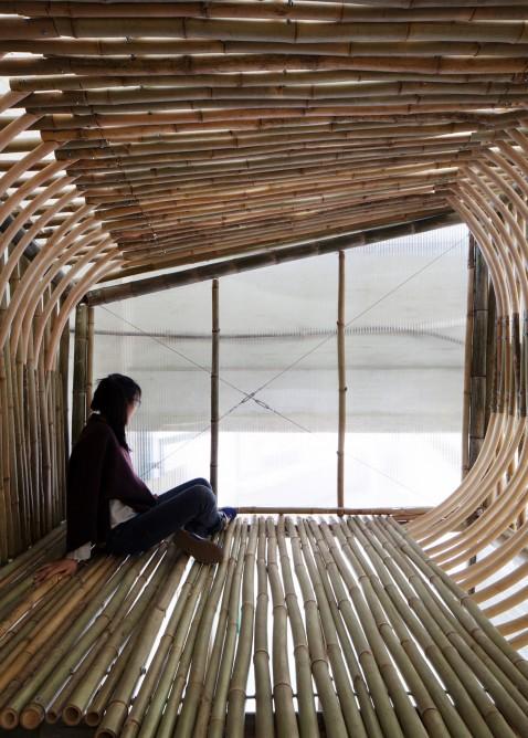 Evsizler İçin Bambu Evler