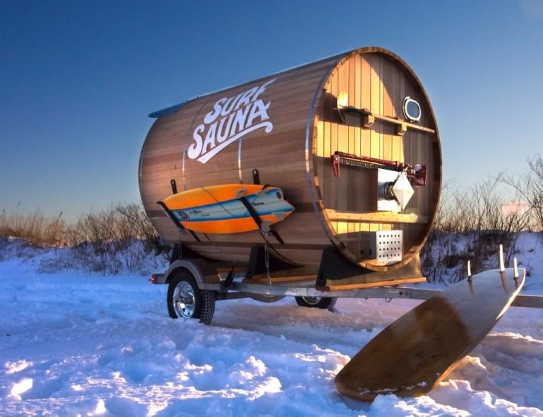Mobil Sauna
