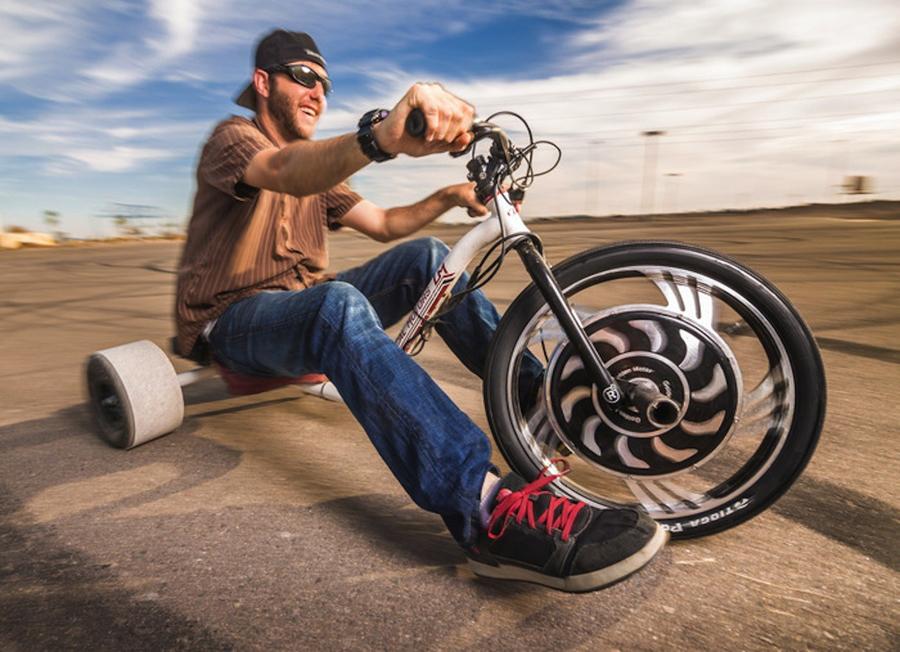 Elektrikli Drift Bisikleti