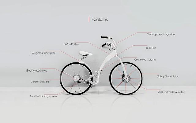 Geleceğin Şehir Bisikleti