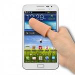 Büyük Ekran Telefonlar İçin Uzayan Parmak