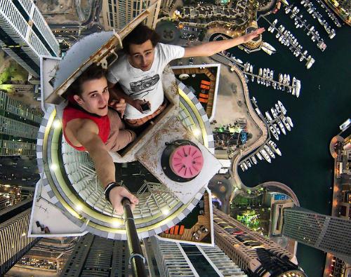 Gökdelenden Dubai Manzaraları