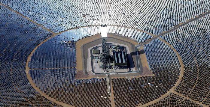 Güneş Enerjisi Çiftliği