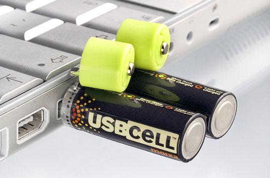 USB'den Şarj Olan Pil