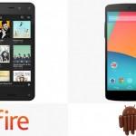 Amazon Fire ve Nexsus 5 Karşılaştırması