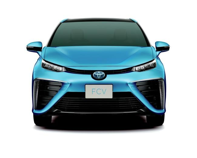 Toyota'dan Hidrojenli Otomobil FCV