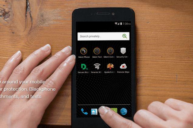 Kriptolu Akıllı Telefon Blackphone