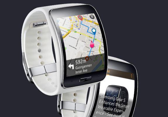 Samsung Gear S Göründü