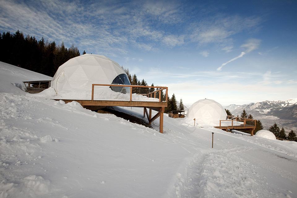 İsviçre Alplerinde Podlarda Tatil