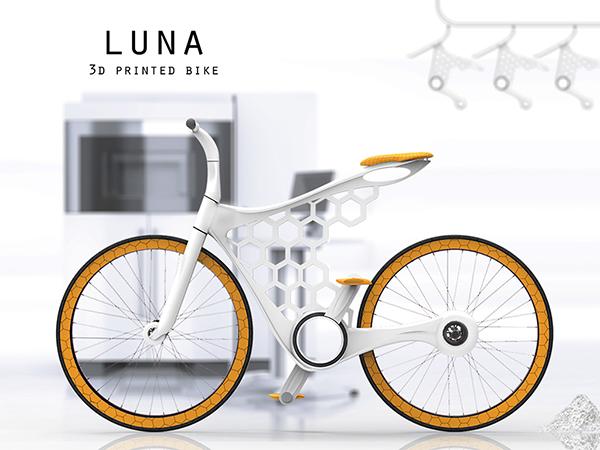 3D Yazıcıdan Basılabilen Bisiklet