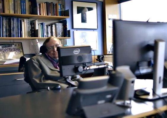 Stephen Hawking'in Bilgisayarı Güncellendi