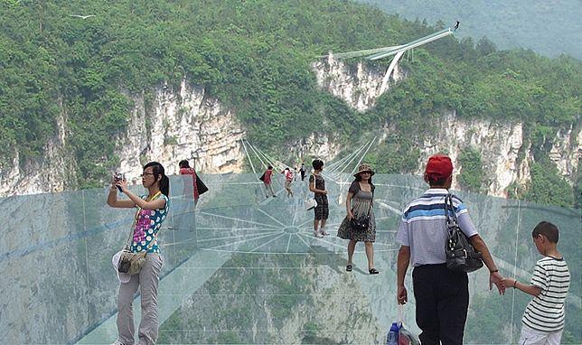 Dünyanın En Büyük Cam Köprüsü