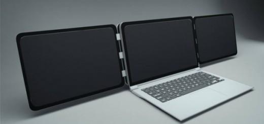 tek-laptop-üç-ekran-teknocinnet
