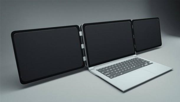 Tek Laptop Üç Ekran