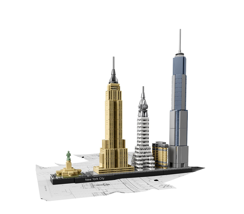 Lego Architecture-teknocinnet