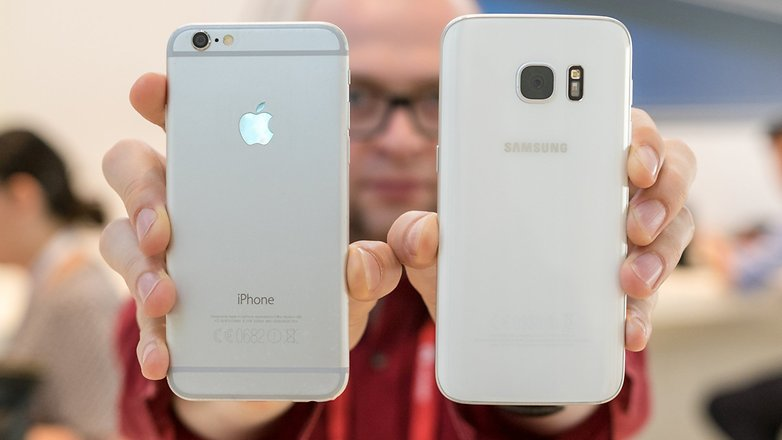 Samsung Galaxy S7 İle iPhone 6S Karşılaştırması
