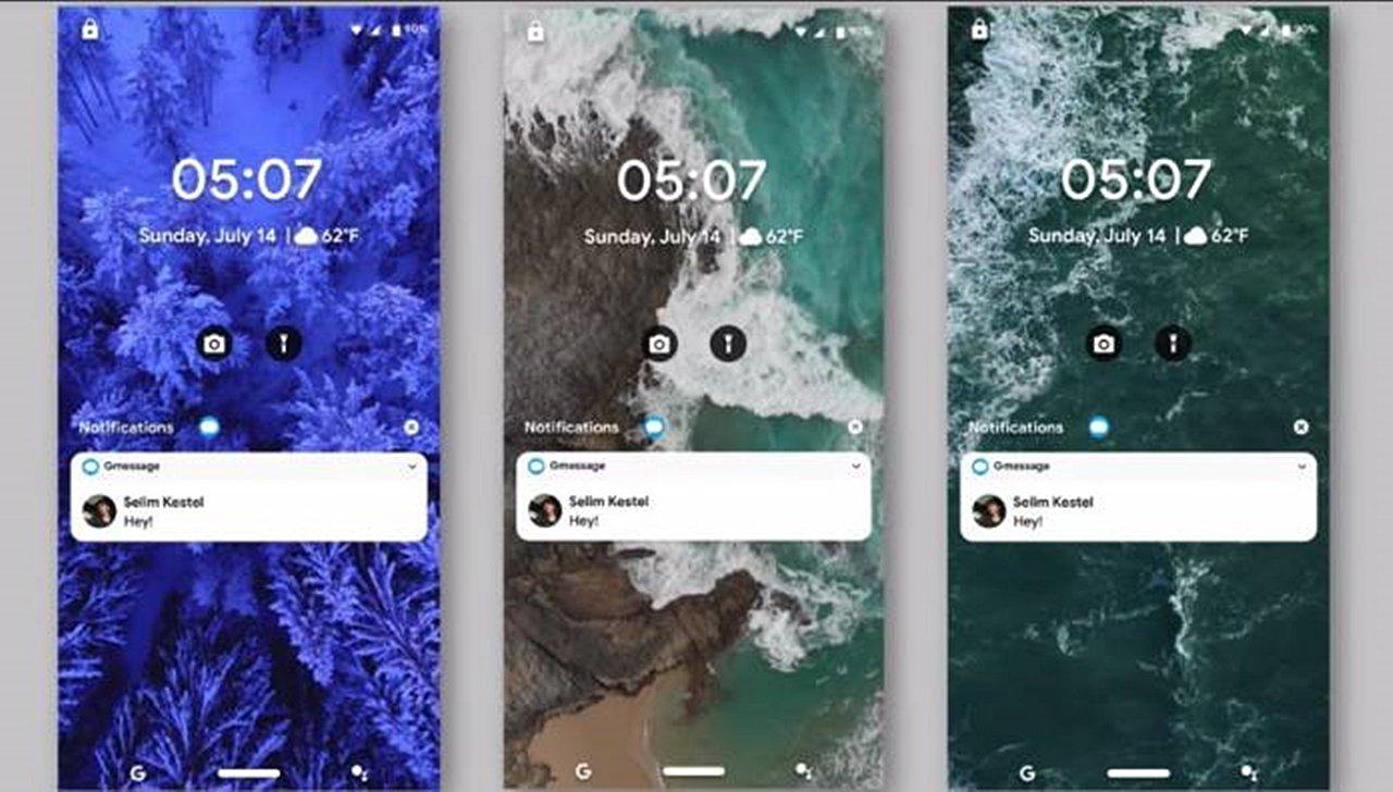Android R'nin konsept görüntüleri yayımlandı