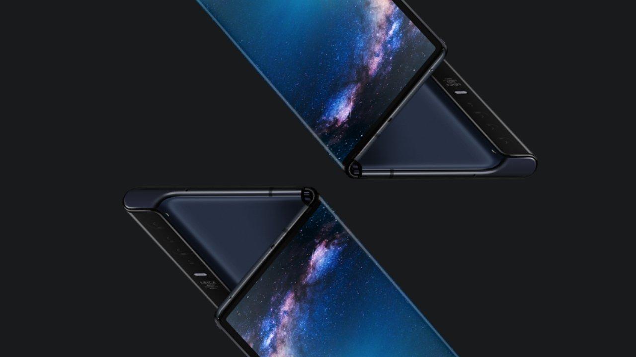 Richard Yu Huawei Mate X ile görüntülendi